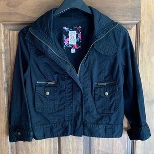 Black Crop Jacket